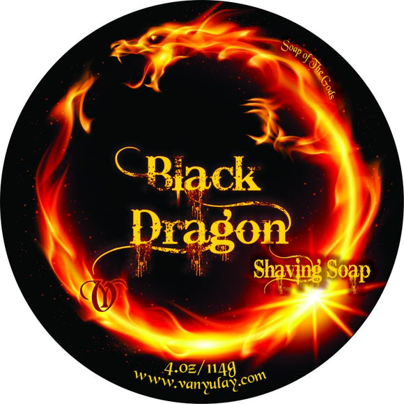 Van Yulay - Artisan Shaving Soap - Black Dragon