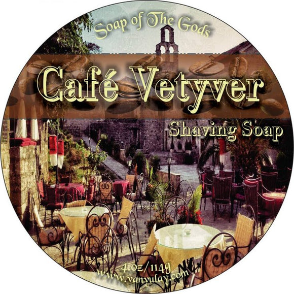 Van Yulay - Artisan Shaving Soap - Cafe Vetyver