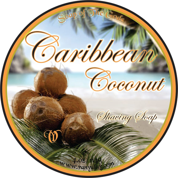 Van Yulay - Artisan Shaving Soap - Caribbean Coconut