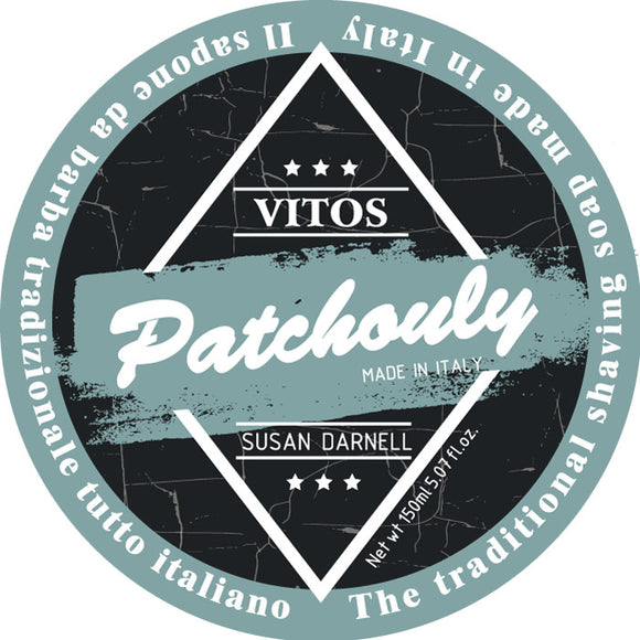 Vitos Limited Edition Shave Soap 150ml - Patchouly