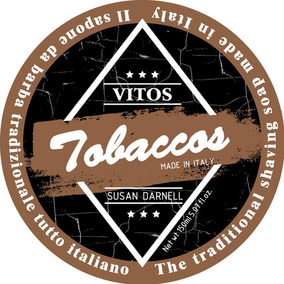 Vitos Limited Edition Shave Soap 150ml - Tobaccos