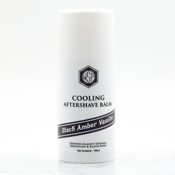 Wet Shaving Products - Cooling Aftershave Balm  - Black Amber Vanille