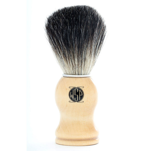 Wet Shaving Products - High Density 100% Pure Black Badger Shaving Brush