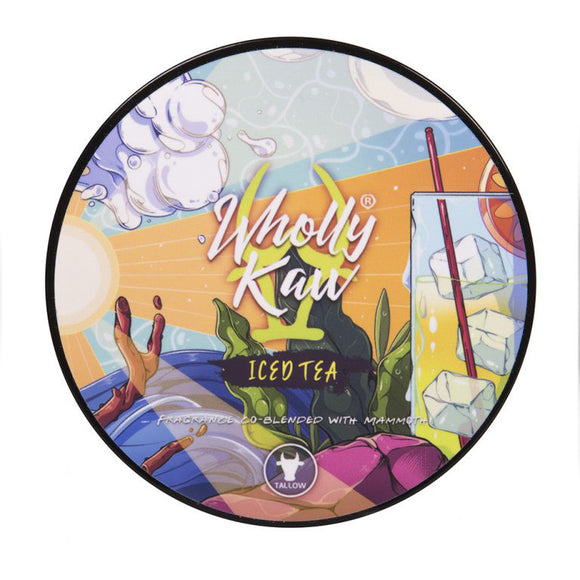 Wholly Kaw - Limited Edition Shave Soap -  Iced Tea
