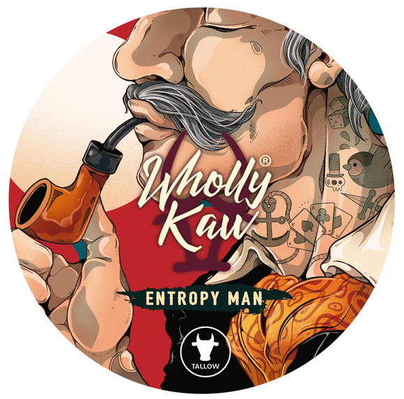 Wholly Kaw - Premium Shave Soap -  Entropy Man