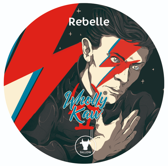 Wholly Kaw - Premium Shave Soap -  Rebelle