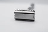 Yates Precision Manufacturing - Model 921 Double Edge Safety Razor - Stainless Steel -  Polished Finish