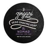 For the well-kept wanderer, this shave soap goes where you go. Take in the scents of  Sweetbay, lime and rum.  This is a fresher take on the traditional bay rum.  Instead of heavy spice, we kept it a bit lighter with a more forward citrus pop.  This is a sexy and masculine blend.