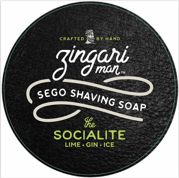 Zingari Man - Sego Shaving Soap - The Socialite
