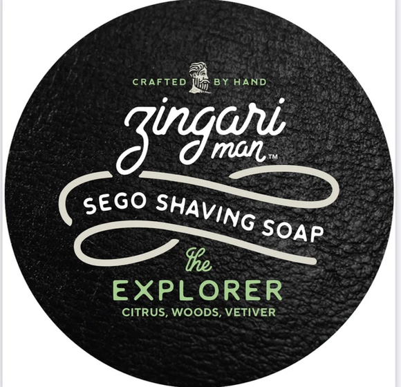 Zingari Man | The Explorer Sego Shaving Soap
