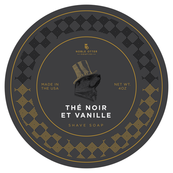 Noble Otter - The Noir Vanille Shave Soap