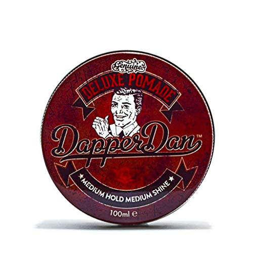 Dapper Dan Deluxe Pomade, Medium Hold Medium Shine 100ml