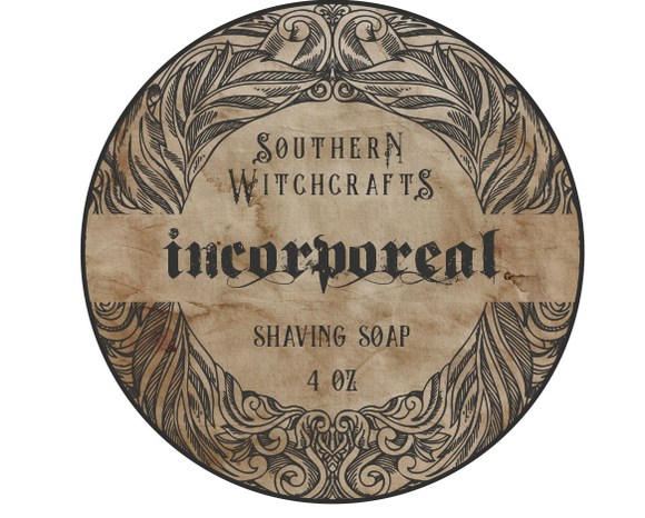 Southern Witchcrafts Shave Soap - Incorporeal - Vegan (Unscented)