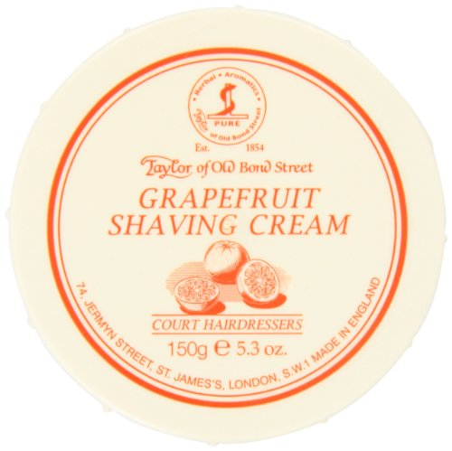 Taylor of Old Bond Street Shaving Cream Bowl, Grapefruit, 5.3 Ounce