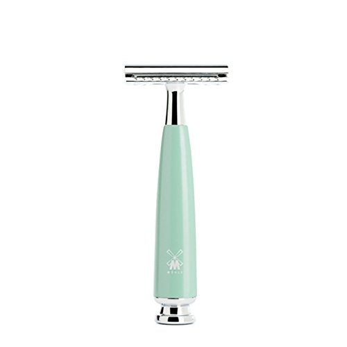 Muhle Safety Razor – Rytmo R224 Sr Closed Comb – Mint Resin