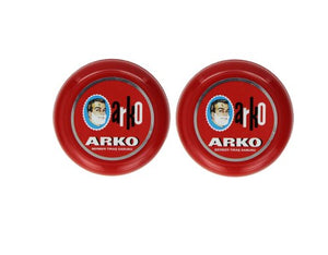 Arko Shaving Soap in Bowl, Pack of 2