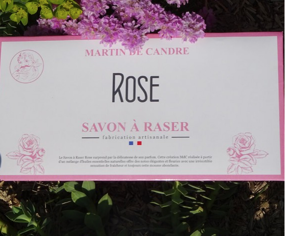 Martin de Candre Shaving Soap Rose Scent - Sample -
