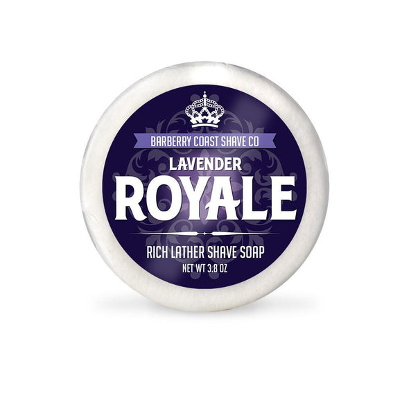 Barberry Coast - Lavender Royale Shave Soap