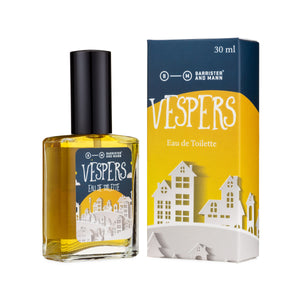 Barrister and Mann - Vespers - EDT - Seasonal