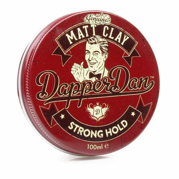 Dapper Dan Matt Clay Strong Hold Pomade 100ml