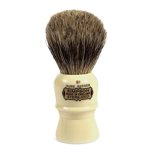 Simpsons Beaufort B1 Pure Badger Shaving Brush