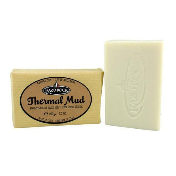 RazoRock Artisan Bar Soap - Thermal Mud