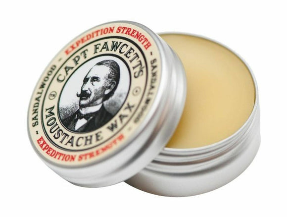 Captain Fawcett's Expedition Strength Moustache Wax - Sandalwood Fragrance