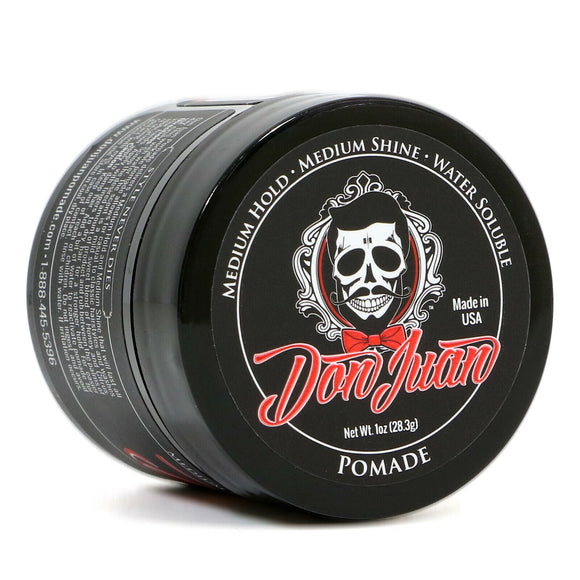 Don Juan  Hair Pomade Travel Size 1oz. Medium/High Hold, Medium Shine