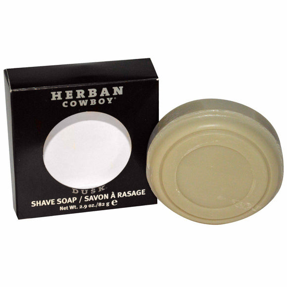Herban Cowboy Natural Grooming Shaving Soap Dusk - 2.9 Oz