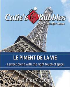 Catie's Bubbles - Le Piment de la Vie - Before & After Shave, 4oz