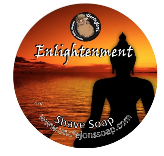 Uncle Jon's Natural Shave Soap- Enlightenment 4oz