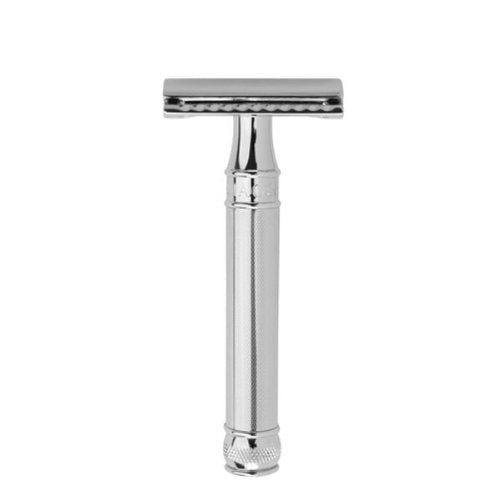 Edwin Jagger DE89 Double Edge Safety Razor Barley Handle DE89BA11BL