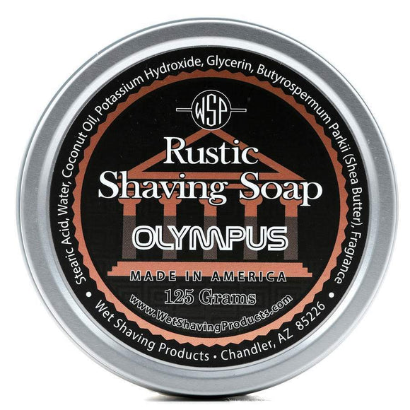 Wet Shaving Products Rustic Shaving Soap - Olympus -