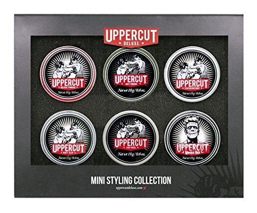 Uppercut Deluxe 6 Mini Tin Collection Pomade