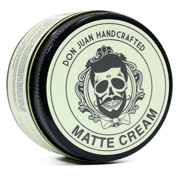 Don Juan Handcrafted Matte Hair Cream 4oz.