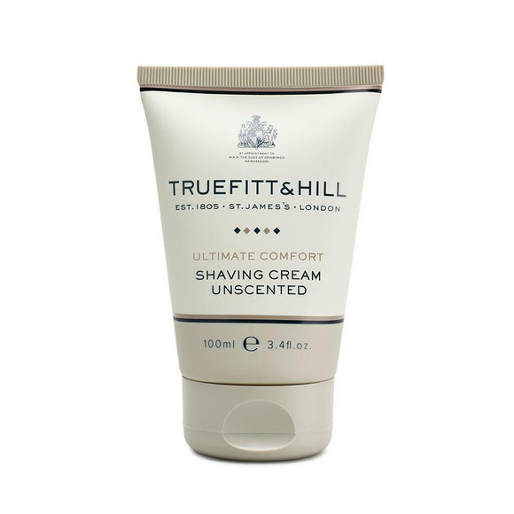Truefitt & Hill Ultimate Comfort Shaving Cream Tube, 100ml, For Sensitive Skin