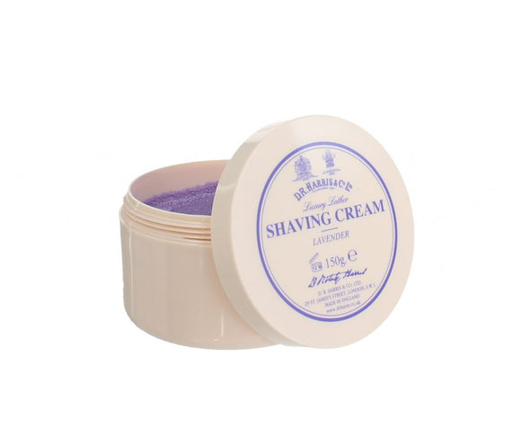 D.R.Harris & Co Lavender Luxury Shaving Cream Tub 150g