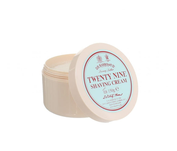 D.R.Harris & Co Twenty Nine Luxury Shaving Cream Tub 150g