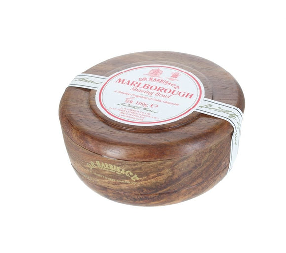 D.R. Harris Marlborough Shaving Soap - With Mahogany Bowl