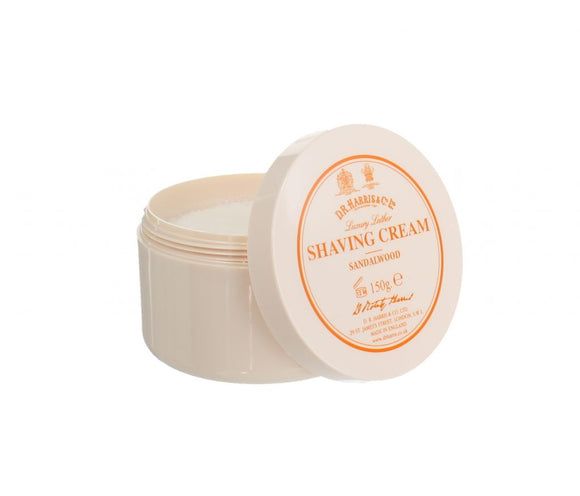 D.R.Harris & Co Sandalwood Shaving Cream Tub 150g