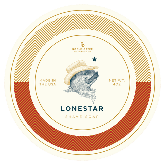 Noble Otter - Lonestar - Shave Soap