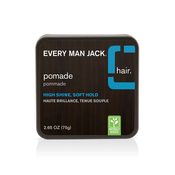 Every Man Jack High Shine Pomade, Soft Hold 2.65 oz