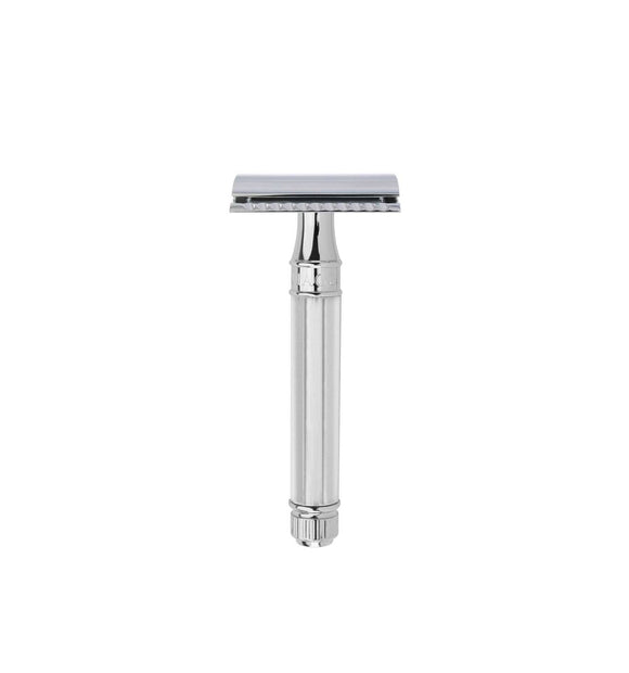 Edwin Jagger DE Safety Razor Chrome Plated De89 Octagonal Handle