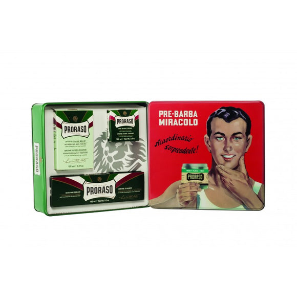 Proraso Green - Shaving Gift-Set -