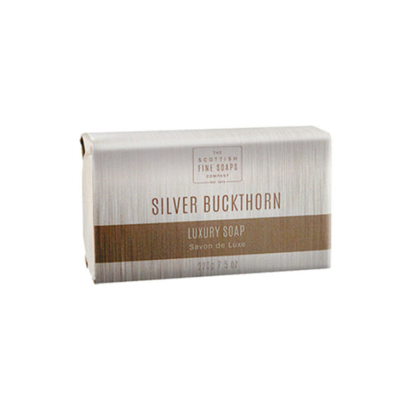 Scottish Fine Soaps Silver Buckthorn Luxury Soap Bar