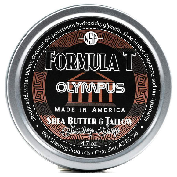 Wet Shaving Products FORMULA T Shaving Soap - Olympus -