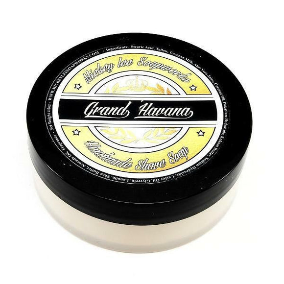 Mickey Lee Soapworks -Grand Havana- Shaving Soap