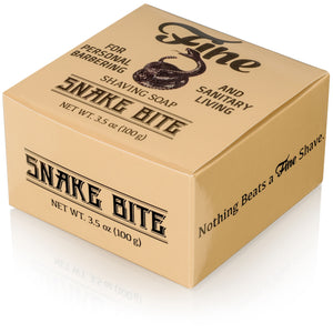 Fine Accoutrements - Classic Shaving Soap Tub - Snake Bite