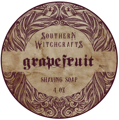 Southern Witchcrafts Shave Soap - Grapefruit - Vegan