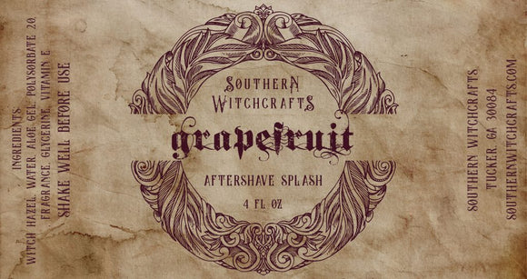 Southern Witchcrafts Aftershave Splash - Grapefruit